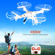 X6SW 2.4G 6-Axis C4005 FPV Camera Digital Proportional Remote Control Quad gopro professional drones with camera HD VS Drone