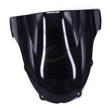 Motorcycle Windscreen Windshield For KAWASAKI ZX6R ZX-6R ZX 6R ZX636 2003-2004 2003 2004 Motorbike