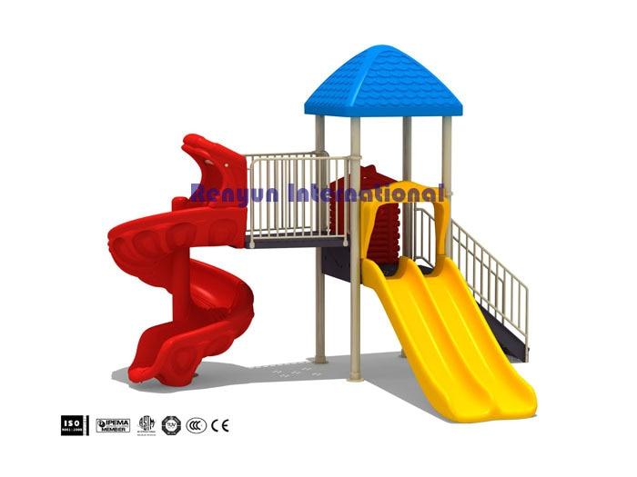 f006 playground 1 ... - RYF 006 Children Playground Kids Backyard Play Set Child Plastic