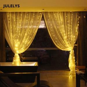 JULELYS 6M x 4M 768 Bulbs LED