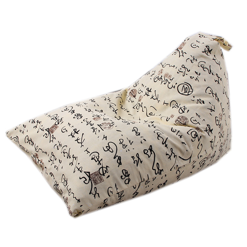 chinese style character toy orgnizer clothes sofa bag children store toy storage beanbags  neaten kid bedroom large space