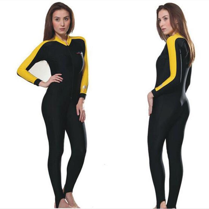 ФОТО High Quality Women Rush GuardSwim stinger suit Dive skin Snorkeling Surf Waterski anti-uv Full body with hood Jellyfish clothing