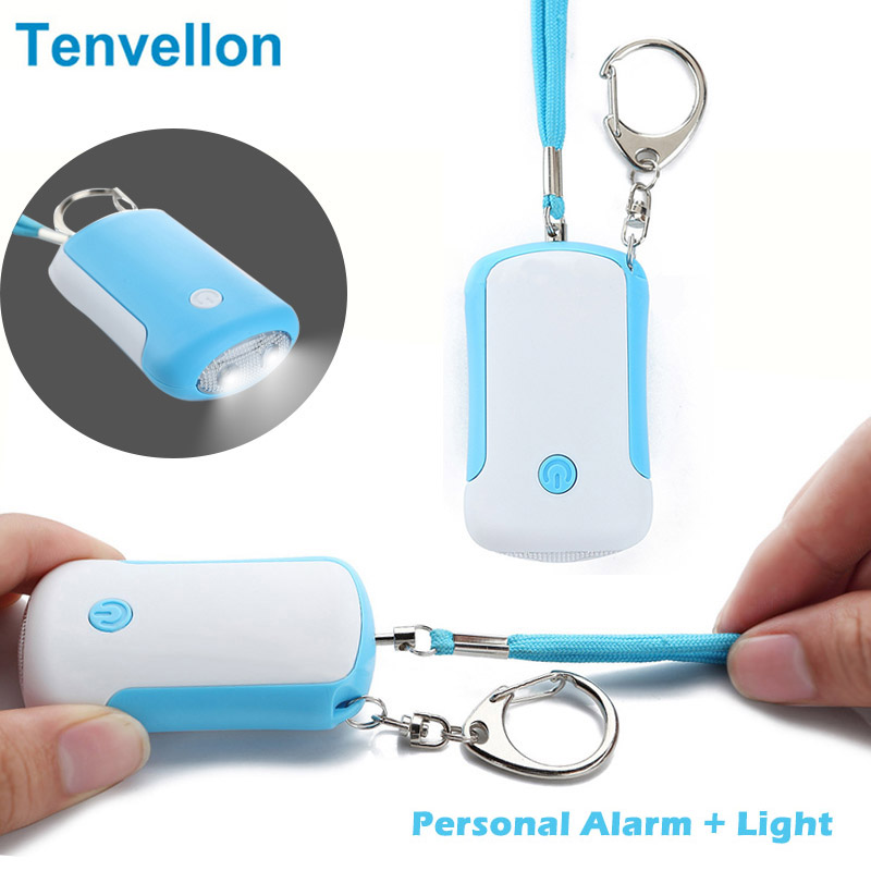 Mini Keychain Personal Alarm Emergency Alarm Security Protection Personal Defense Tool with LED Light Self Defense Supplies все цены