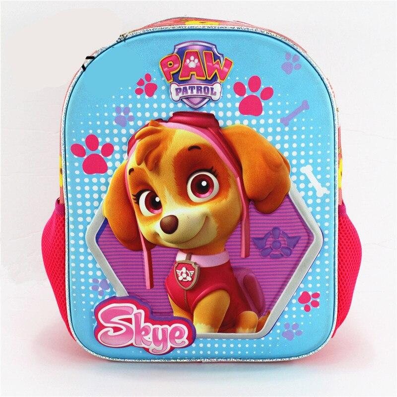 Rucksack Baby taschen 3D Taschen für mädchen rucksack kinder Welpen mochilas escolares infantis kinder schule taschen schöne Tasche Schule