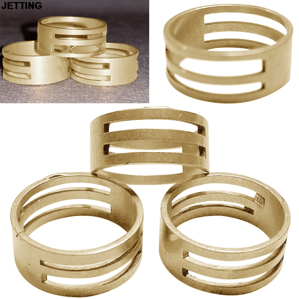 JETTING 1Pc Jump Ring Open/Close Tools Open DIY Raw Brass Jump Ring For Jewellery Making Findings Helper Tool