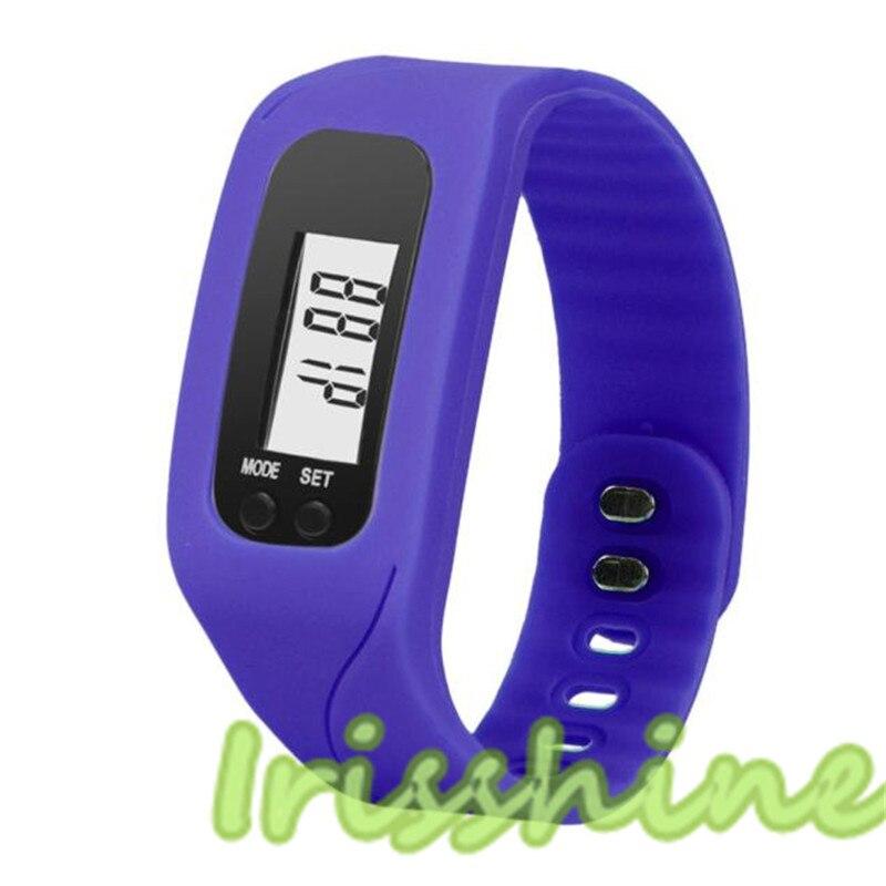 Couple Watches Digital Walking-Distance Women Men Unisex Run Step LCD A126 Pedometer