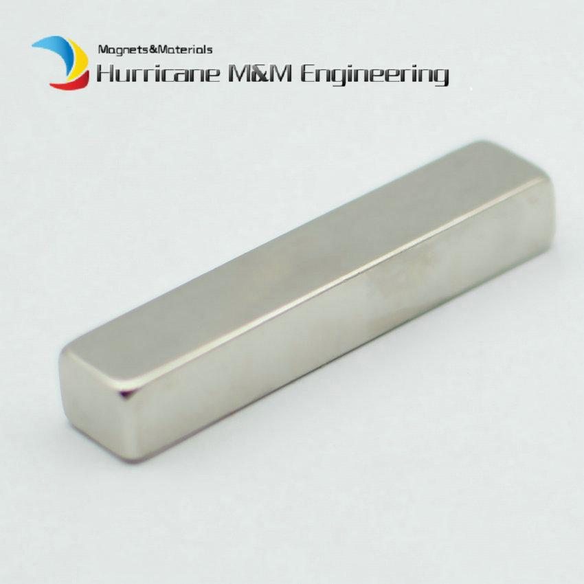 все цены на 5-48pcs N50 NdFeB Magnetic Block 50x8x10 mm Poles on 50x8 Sides Strong Neodymium Rare Earth Permanent Industrial Magnet онлайн