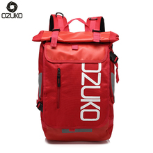 Ozuko waterproof oxford bag Fashion mens breathable backpack Mens Travel Backpacks Large Capacity Multifunctional student bags