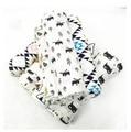 Verão 100% algodão Musselina camada Única toalha de bebê recém-nascido cobertor do bebê swaddle envoltório infantil 120x120 cm 180g