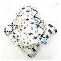 Verano 100% algodón de Una Sola capa de Muselina bebé toalla manta de bebé recién nacido bebé swaddle wrap 120x120 cm 180g