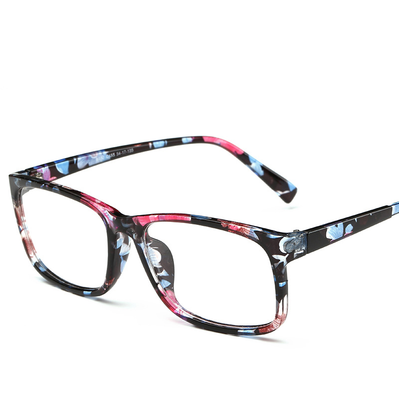 0929985c19e VCKA 2017 New Eyeglasses Men Women Square Brand Designer Eye Glasses Frames  Clear Optical Myopia computer Eyewear oculos de grau-in Eyewear Frames from  ...