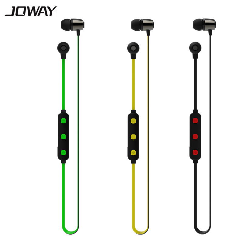 JOWAY H15 wireless headphones bluetooth headset Sports Sweat proof Stereo Earbuds Headset Earphones with Mic for Phone picun p3 hifi headphones bluetooth v4 1 wireless sports earphones stereo with mic for apple ipod asus ipads nano airpods itouch4