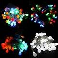5 M 50LED Luz de la Secuencia LED Holiday Lighting AA Batería Bola Colorida Bombilla led lámpara de la Fiesta de La Boda luces De Navidad En Casa Decora