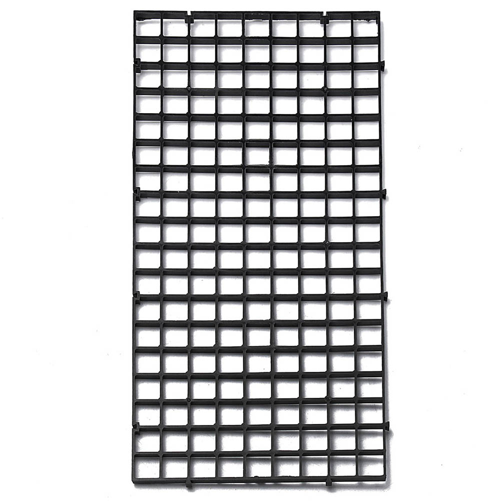 Durable Plastic Fish Grid Divider Tray Egg Crate Aquarium Tank Filter Bottom Isolate Pane TB Sale