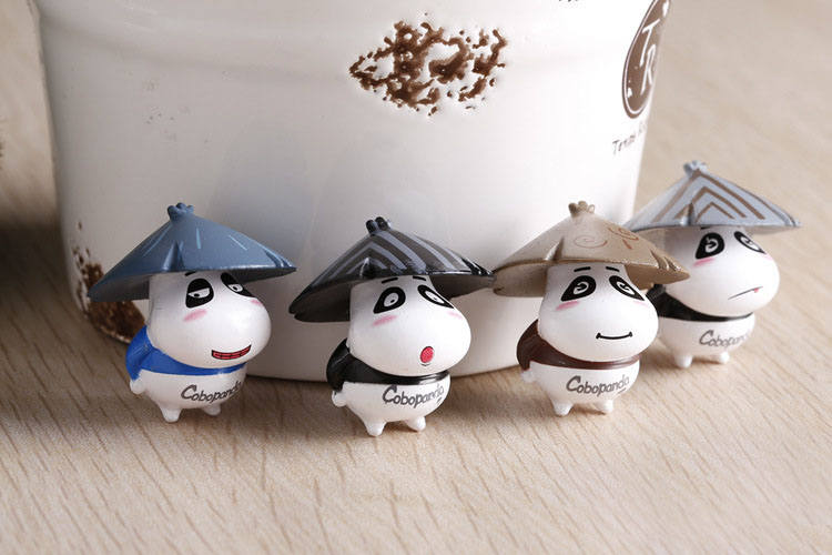 Clever 1pcs House Cow Diy Resin Fairy Garden Craft Decoration Miniature Micro Gnome Terrarium Figurines & Miniatures