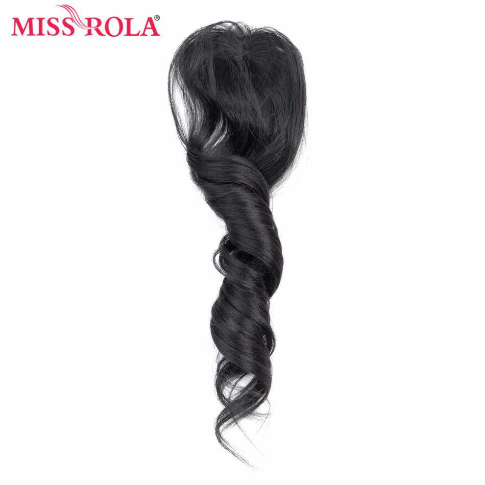 الآنسة رولا أومبير حزم الشعر المجعد الاصطناعية ملحقات الشعر فضفاض موجة حزم 18-22 بوصة 6 قطع حزمة واحدة كامل رئيس الشعر ينسج