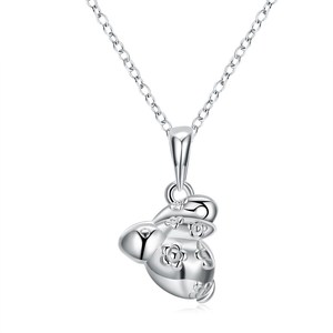 Cute Style Fashion Jewelry Silver Plated Pendant Necklace For Women Popular Necklace Drop Shipping Hot Sell Trendy