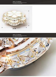 Image 5 - Ledクリスタルシャンデリアバルコニーライト売り場ライト円形入り口廊下灯スポットライトメーカーランプFD 116