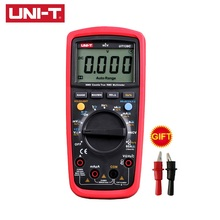 UNI-T UT139C LCD Digital Multimeter Auto Range True RMS Meter Handheld Tester 6000 Count Voltmeter Temperature Test