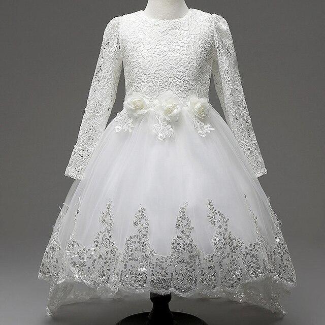 Mädchen Prinzessin Blume Kleider für Hochzeit Brautjungfer Kinder ...