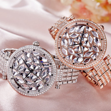 Luxury Crystal Rhinestones Watch