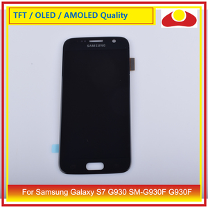 Image 5 - 10 teile/los Für Samsung Galaxy S7 G930 SM G930F G930F LCD Display Mit Touch Screen Digitizer Panel Pantalla Komplette