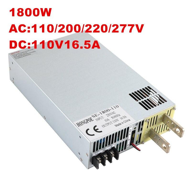 Nouvelle alimentation DC5V 12 V 15 V 24 V 27 V 30 V 36 V 48 V 60 V 68 V 72 V 110 V 1800 w ac à dc alimentation 0-5 v contrôle du signal analogique