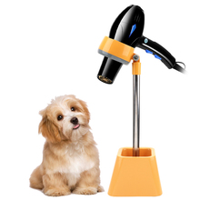 лучшая цена Pet Hair Dryer Bracket Lazy Stent Dog Cat Grooming Dryer Grooming Cleaning Supply Pet Accessory Shelf 180 degree Rotation