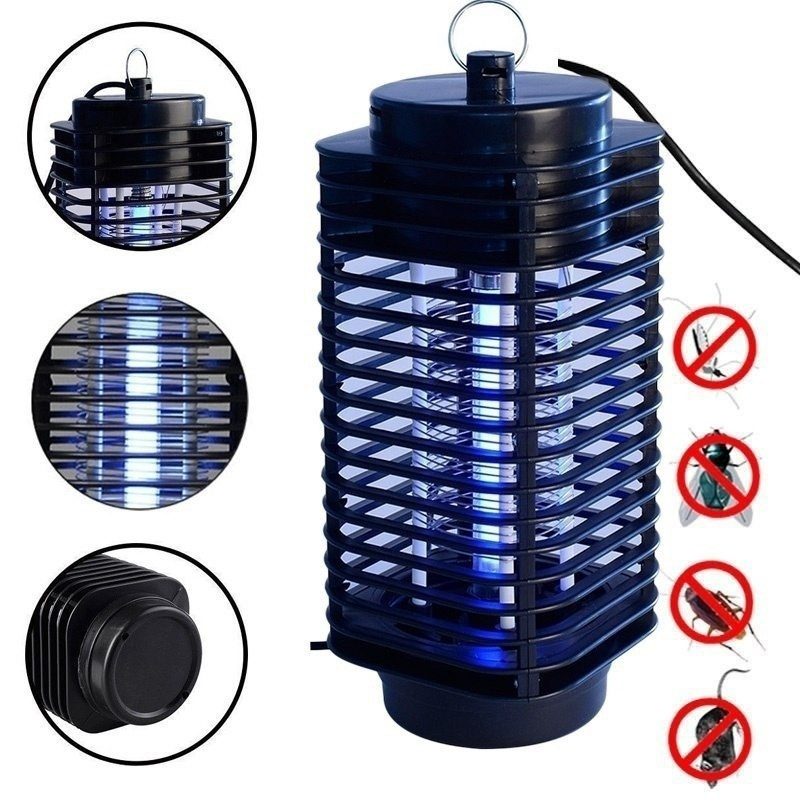 New Super Trap Electric Photocatalyst Mosquito Pest Fly Bug Insect Wasp Killer Mosquito Repellent Night Lamp LED US/EU Plug-in Traps from Home & Garden
