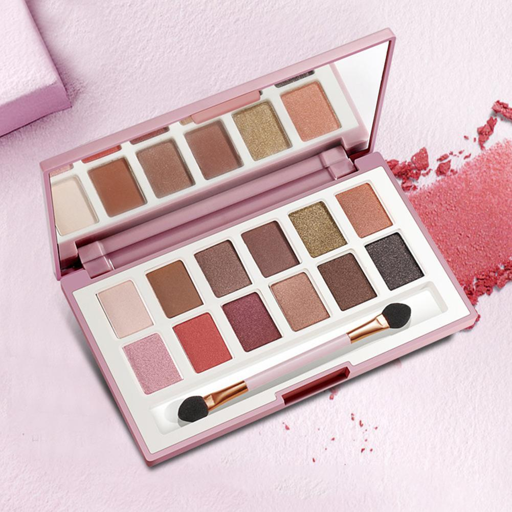 The Best Brand 12 Colors Shimmer Matte Eyeshadow Makeup Palette Long Lasting Eye Shadow Natural Nude Eyeshadow With Brush Kits Back To Search Resultsbeauty & Health
