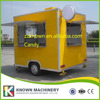 Kitchen Cooking Mobile Food Cart Trailer Food Vending Cart Out Door Food Trailer