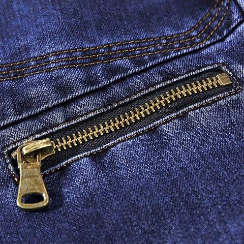 Fashion Jeans Blazers Men Business Casual Slim fit Suits Jacket hombre Cotton Multi-pocket Denim Blazer masculino Size L-3XL Multan
