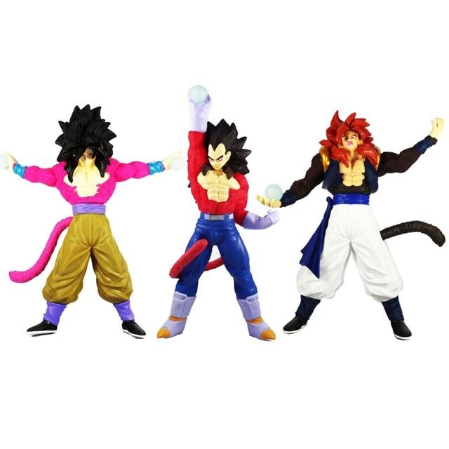 Dragon Ball Gt Super Saiyan 4 Gokouvegetagogeta 106 Action