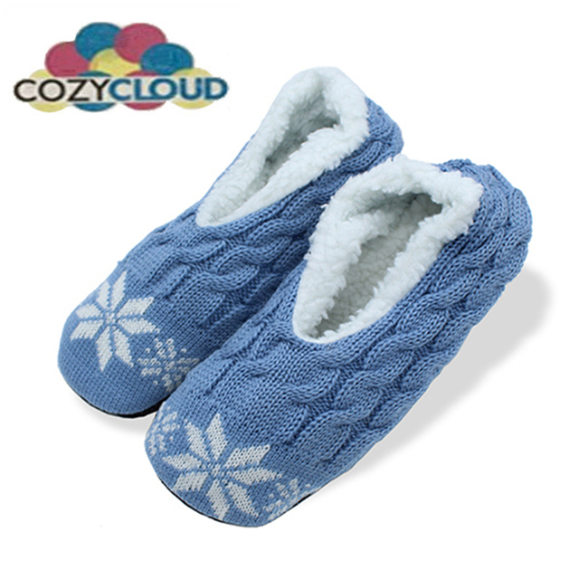COZY CLOUD Winter Cotton Slippers Indoor Shoes Women Slippers Home ...