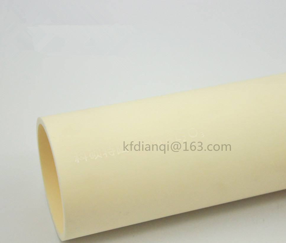 OD*L=55*1000mm/ 99.5% High Purity Alumina Advanced Ceramics/ Refractory Furnace Process Tube/ one both endOD*L=55*1000mm/ 99.5% High Purity Alumina Advanced Ceramics/ Refractory Furnace Process Tube/ one both end