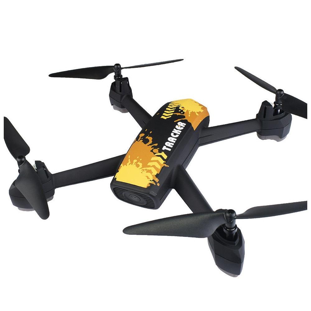 JIN XING DA 518 RC Quadcopter 2.4GHz HD 2MP Camera WIFI FPV GPS Mining Point Drone Yellow