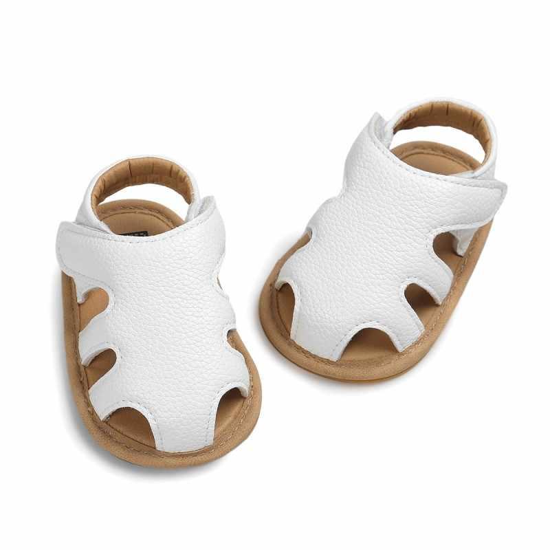 Chinelos de verão Do Bebê Do Bebê Recém-nascido Meninas Escavar Meninos Sapatos Casuais Respirável Sandálias Prewalker Sandália 0-18 M