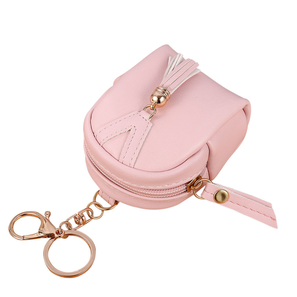 Hot sale coin purse Women Simple Key Wallet Tassel Coin Purse Card Holders wallets Carteira Feminina good quality hot sale good quality inductive