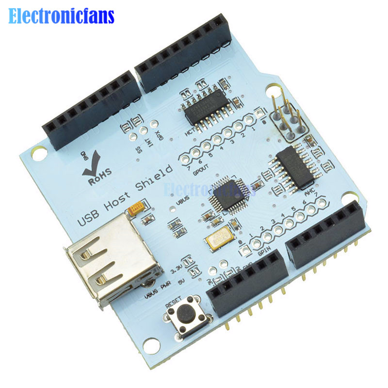 USB Host Shield 2.0 for Arduino UNO MEGA ADK Compatible Google for Android ADK