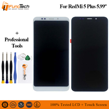 LCD For 5.99 Xiaomi Redmi 5 Plus screen display touch digitizer with frame for redmi plus lcd replacement parts