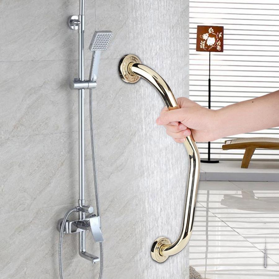 Permalink to Zinc Alloy Grab Bar Handrail Toilet Safety Non-Slip Armrest Shower Grip Bar Handle Bathtub Rail for Elderly Bathroom Accessories