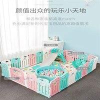 Оле детская игровая площадка ограждение для детской безопасности домашних ползающих малышей комнатное ограждение площадка