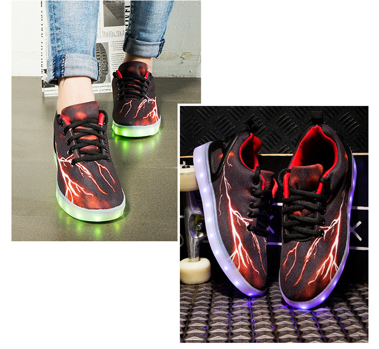 Led Sneakers Lightning 24