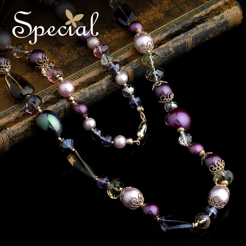 Special Fashion Natural Pearls Maxi Necklace Vintage Beaded Chain Necklaces & Pendants Long Necklace Gifts for Women XL141114 free shipping imitation pearls chain flatback resin material half pearls chain many styles to choose one roll per lot