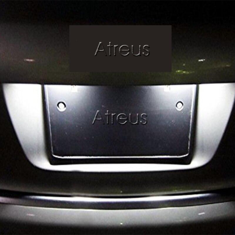 2Pcs LED φώτα πινακίδων πινακίδων SMD3528 - Φώτα αυτοκινήτων - Φωτογραφία 6