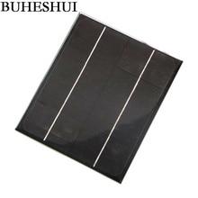 BUHESHUI 12V 6W Mini Solar Panels Solar Power 9V Battery Charger Solar Cell Diy Solar Chager Education  200*170*3MM High Quality