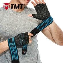 TMTジム手袋ダンベルフィットネス手袋ウエイトリフティングベルトスポーツ運動ウェイトリフティング手袋ボディビルディングトレーニングバーベル