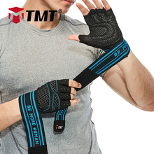 TMT gym Gloves dumbbell Fitness gloves weightlifting belt Sports Exercise Weight Lifting Gloves Body Building Training barbell
