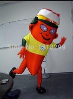 רד הוט צ 'ילי פלפל קמע תלבושות קמע התחפושת custom פנסי תלבושות קוספליי ערכות נושא mascotte קרנבל תלבושות