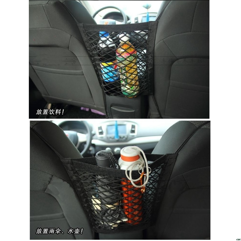 Baby Milk Bottle Storage Holder Car Truck Storage Luggage Hooks Hanging Holder Seat Bag Net Mesh FAS